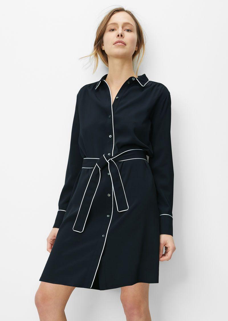 Blusenkleid | Blusenkleid, Kleider und Kleid mit ärmel