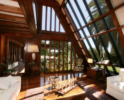 Baie vitree maison en bois maison nature maison bois maison et d co maison - Maison nature et bois ...