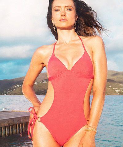 fa4154af7b6b2 Voda Swim Envy Push Up Monokini One Piece in Grapefruit | Summerswim ...