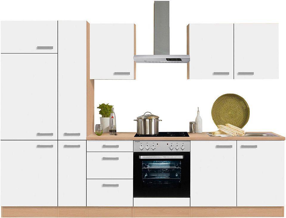 Optifit Küchenzeile ohne E-Geräte »Odense« , Breite 300 cm Jetzt - küchenblock 260 cm