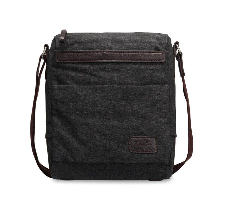 d3ee83c2a7 Tiny Chou Vintage Canvas Messenger Bag Shoulder Bag Business Briefcase for  Men    Read more
