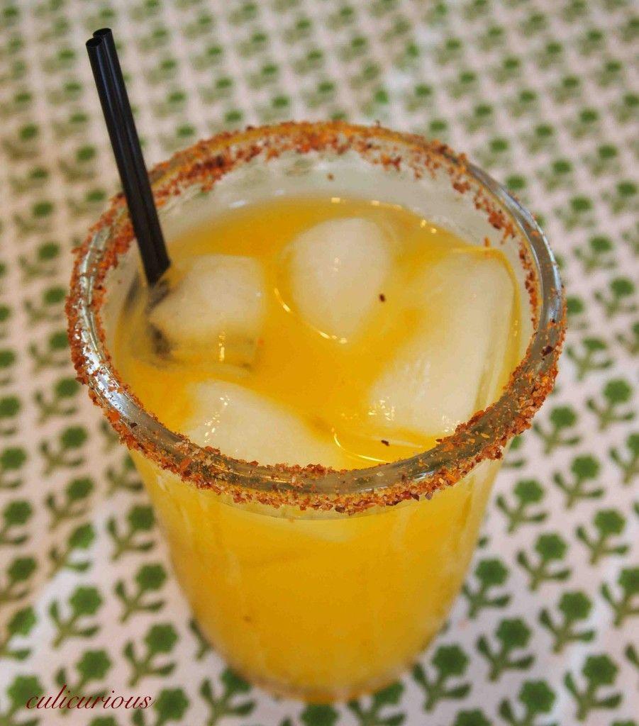Mango Margarita On The Rocks Recipe