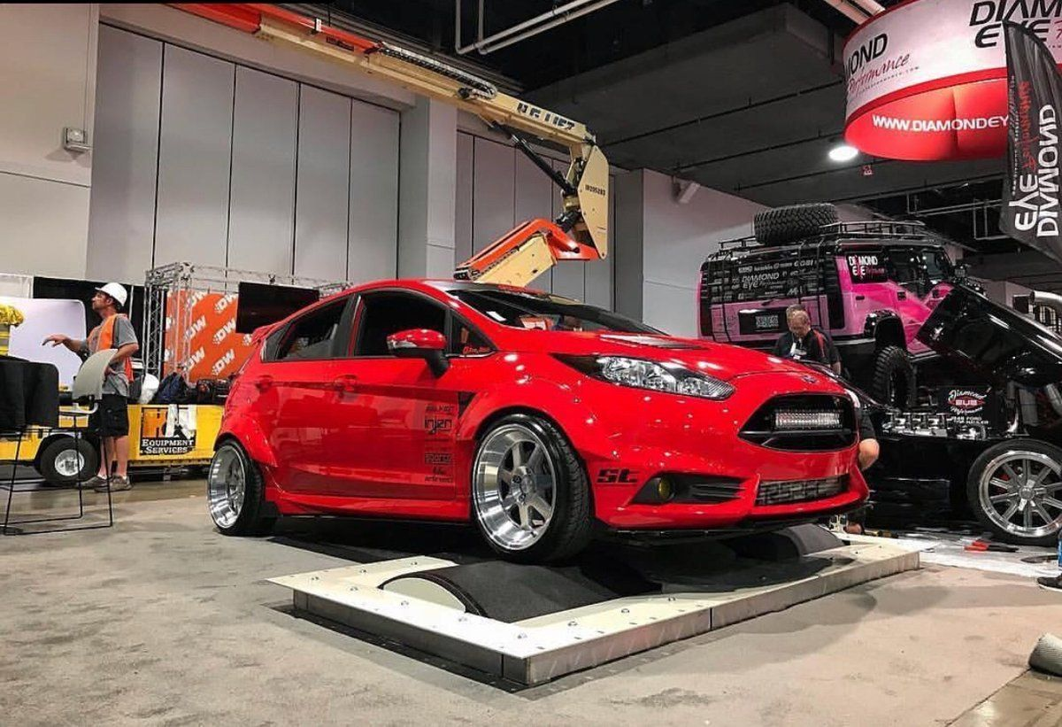 Fury Motoring Flared Out Fiesta Package Deal 2014 Ford Fiesta