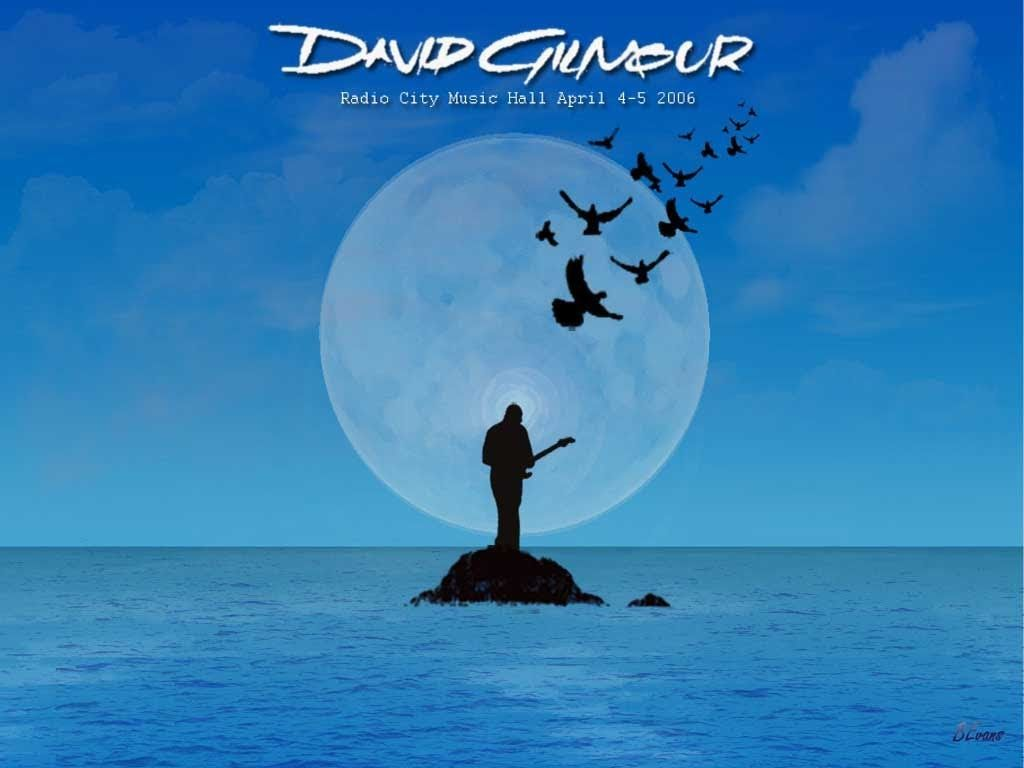 listen to david gilmour on an island
