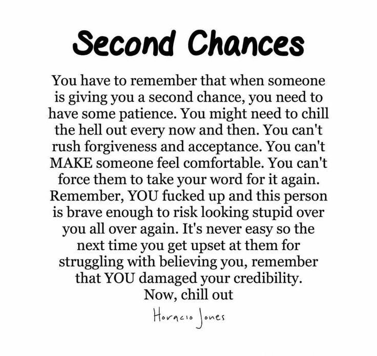 Second Chances Source By Jillabean25 Chance Quotes Second Chance Relationship Quotes Betrayal Quotes