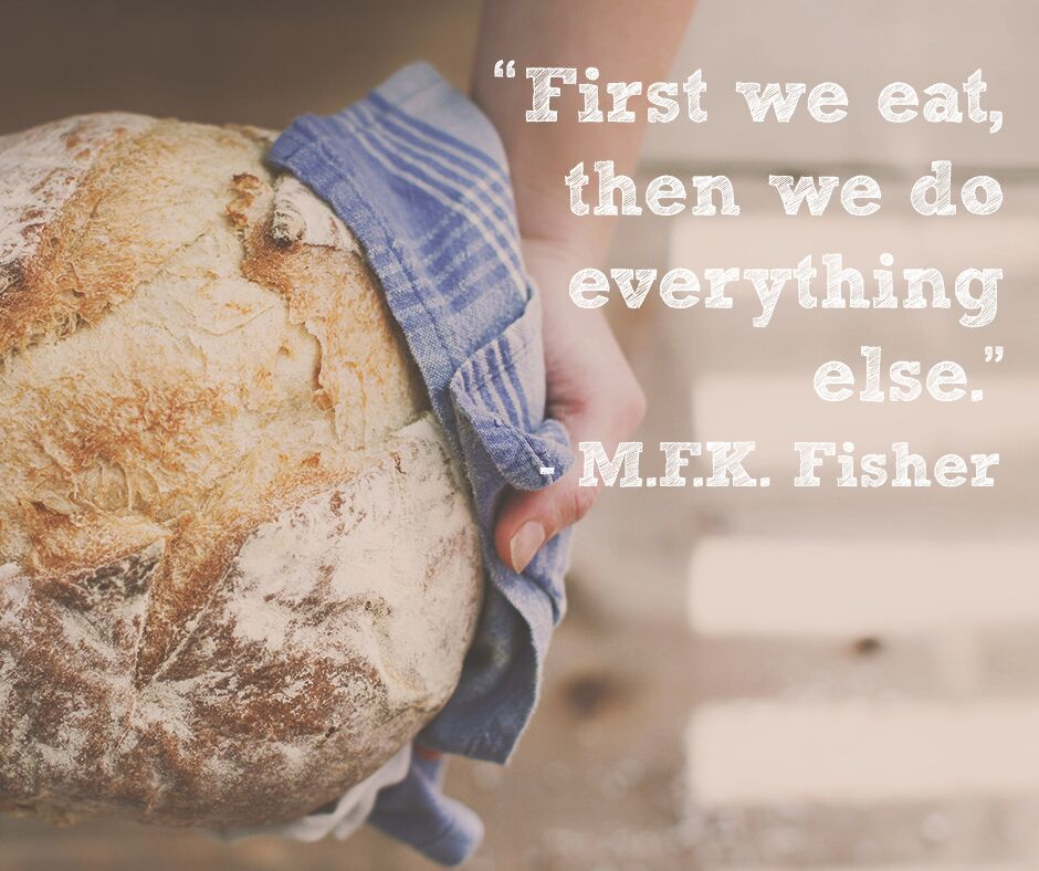 35 Very Delicious Food Quotes Every Food Lover Must See: Food First, That's Our Motto! Quotes