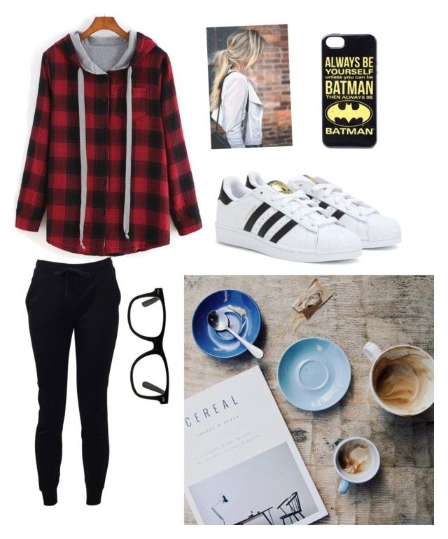 """""""Sick days"""" by farah-future-malik on Polyvore featuring T By Alexander Wang and adidas"""