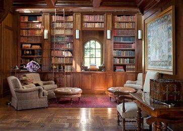 mediterranean home office library mediterranean family room