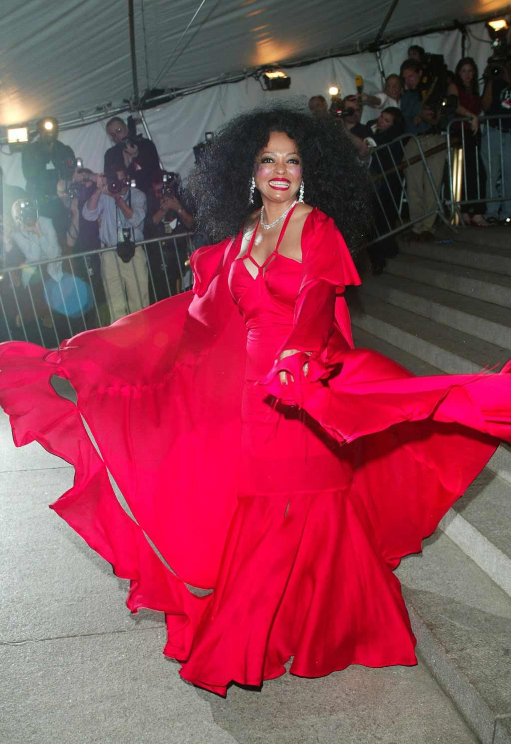 Diana Ross at The Met Gala. La Ross remains divine! | The Boss ...