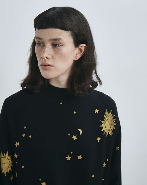 45b679ae46d Lazy Oaf Golden Galaxy Sweater Dress - Everything - Categories - Womens
