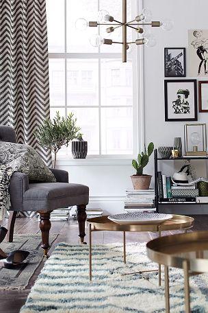 Ellos Home George-sohvapöytä, korkea 79,00e MUSTANA