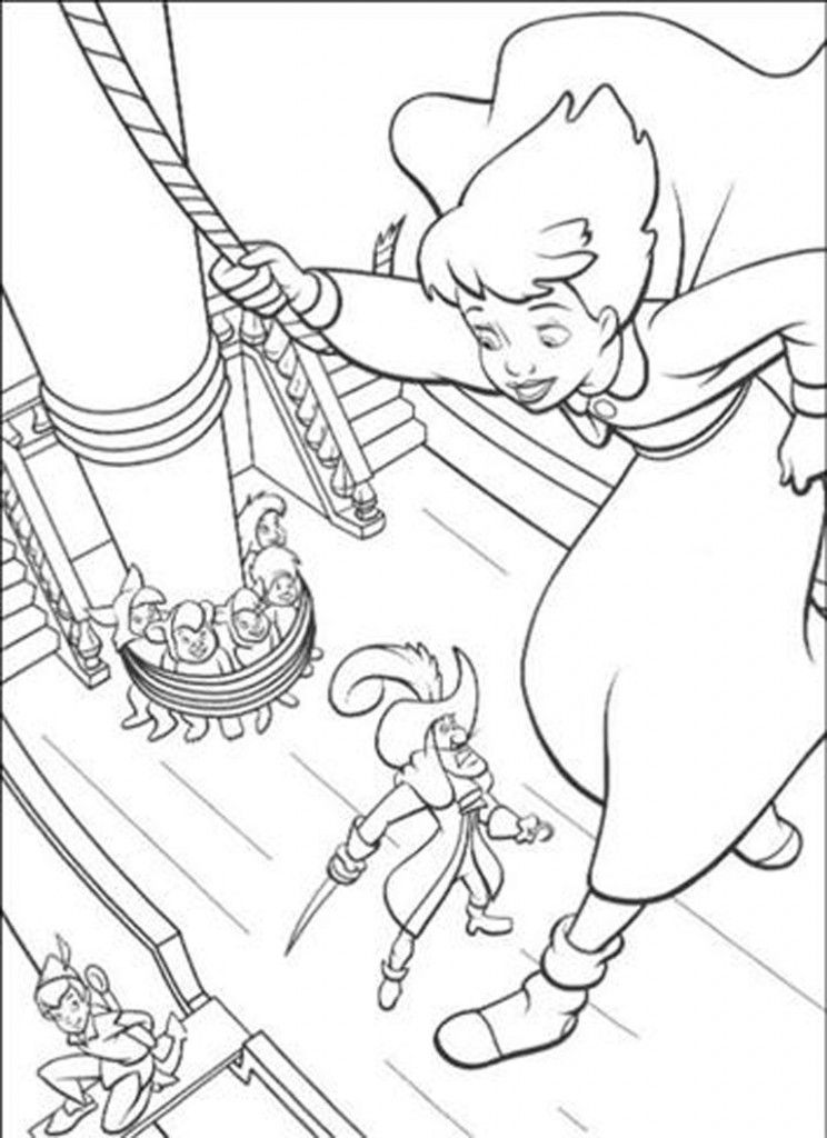Disney S Peter Pan Return To Never Land Blu Ray Pirate Coloring Pages Disney Coloring Pages Cartoon Coloring Pages