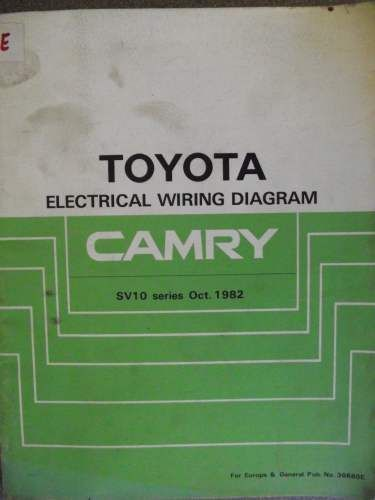 toyota camry electrical wiring diagram manual 1982 36680e jacks toyota camry electrical wiring diagram manual 1982 36680e