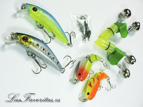 Pesca Equipos Señuelos Accesorios Tips