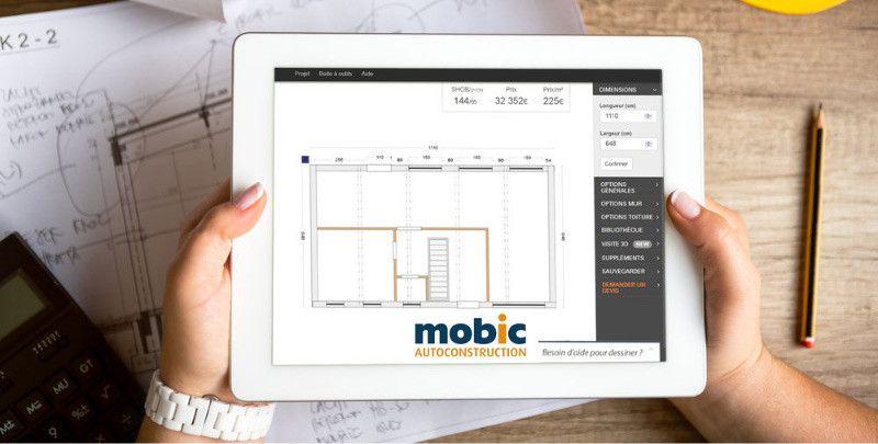 Mobic  des kits complets pour auto-construire sa maison bois - Montage D Un Garage En Bois