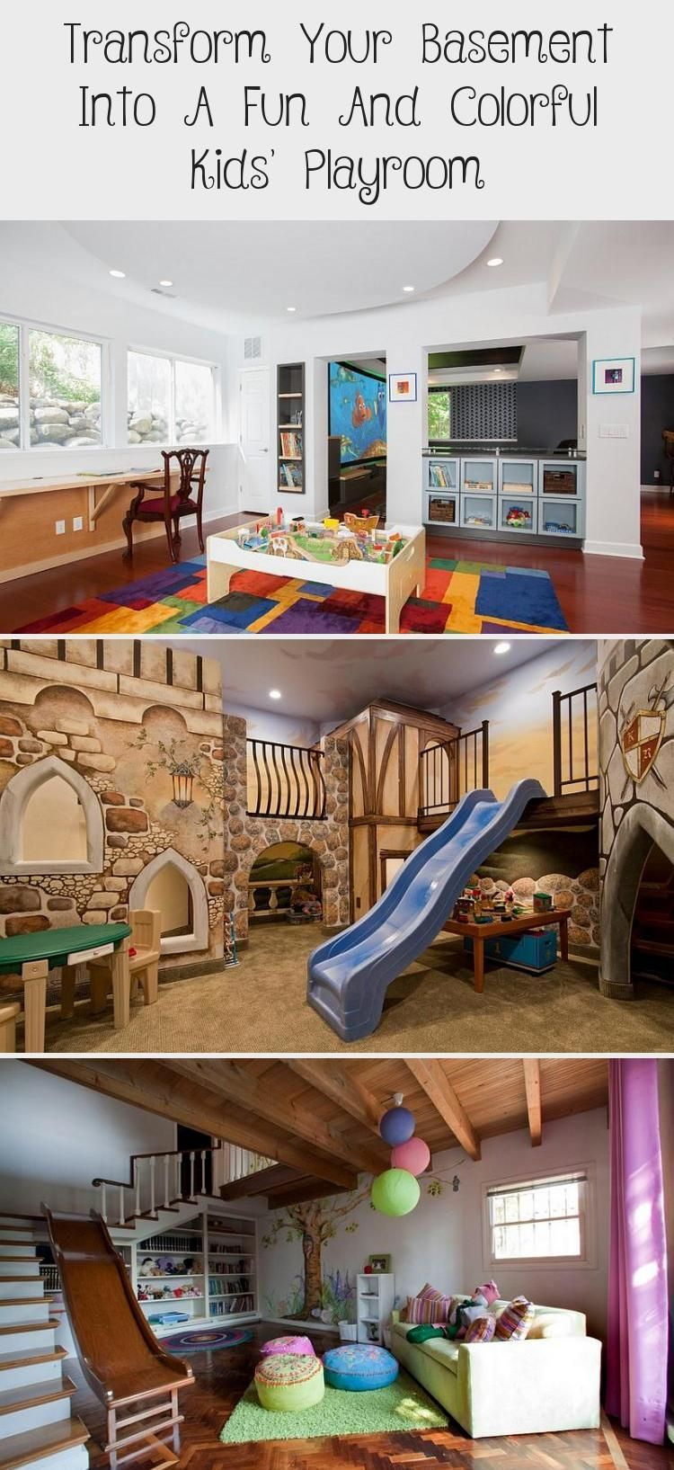 Photo of Transform Your Basement Into A Fun And Colorful Kids' Playroom