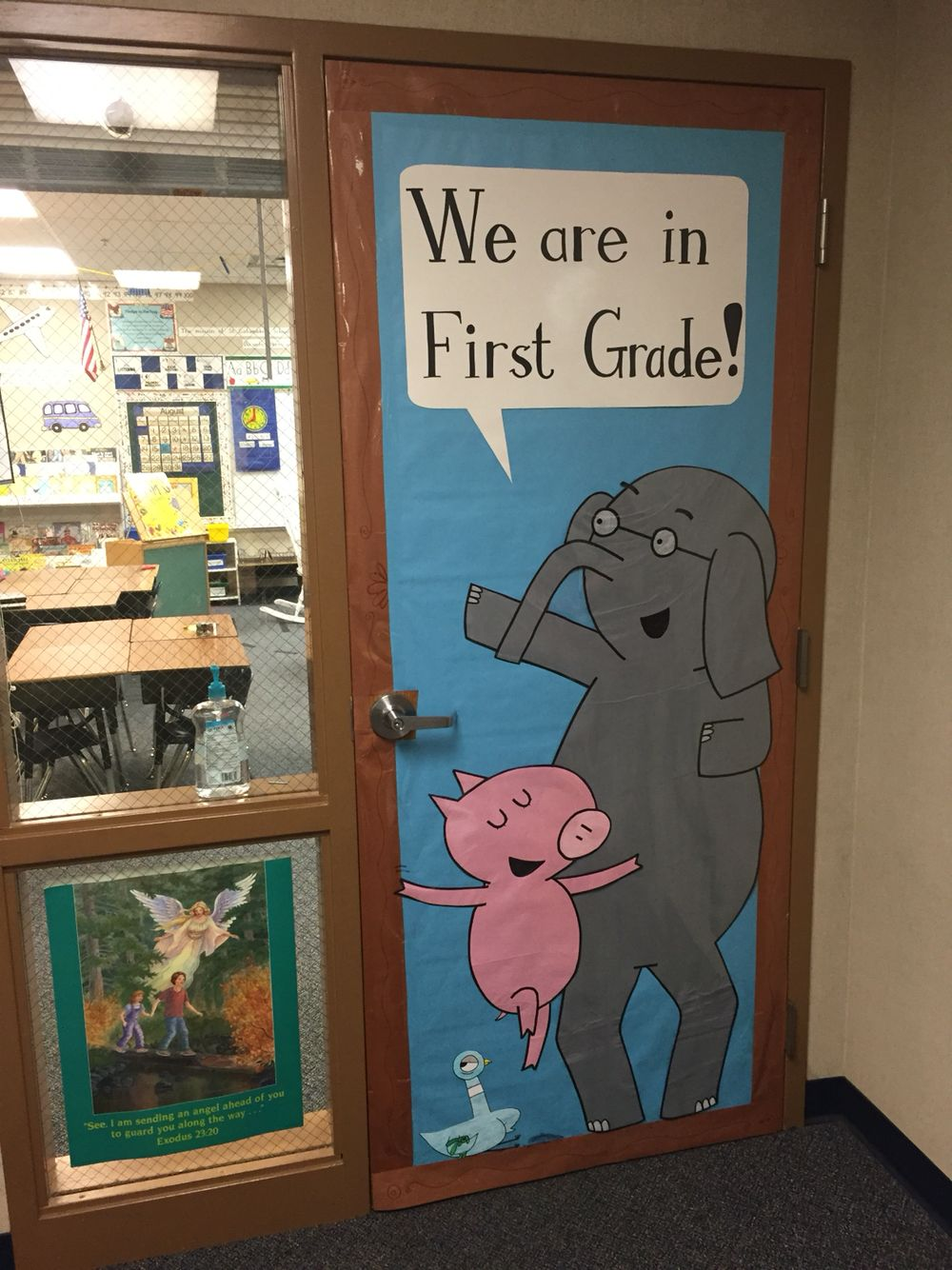 Elephant And Piggie By Mo Willems Classroom Door