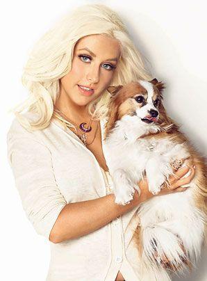Resultado de imagen para christina aguilera perro Stinky
