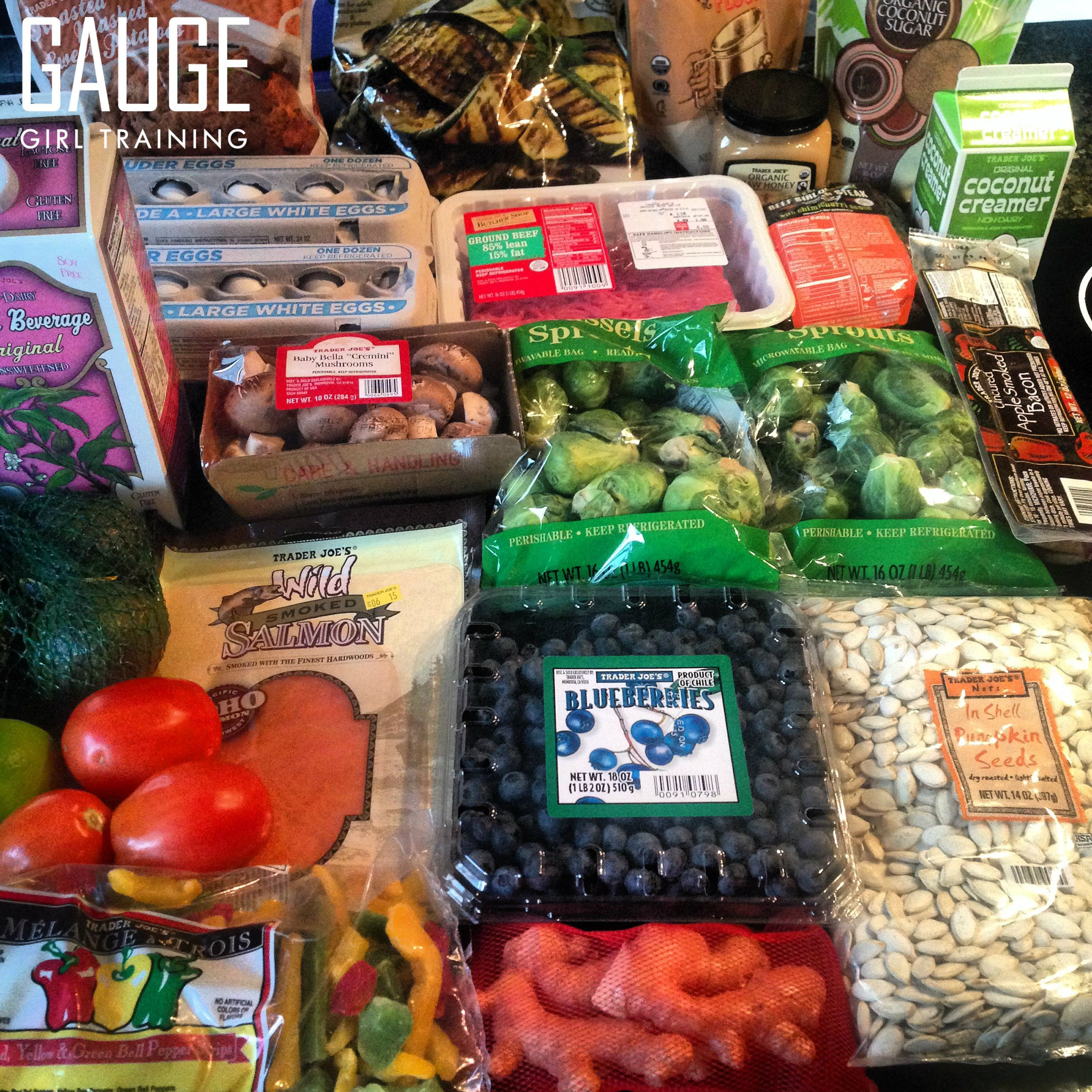 Check out this grocery haul from trader joes for my paleo meal plan do it yourself programs gauge girl training solutioingenieria Choice Image