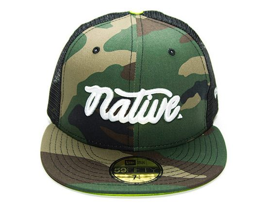 7fc598be57f Camo Mesh Native 59Fifty Fitted Cap by NEW ERA x FITTED HAWAII ...