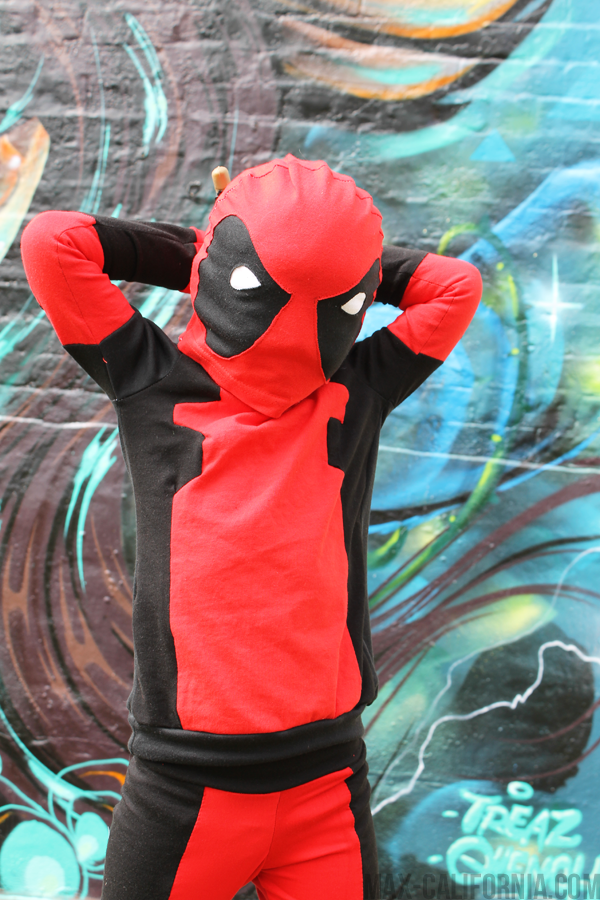 Max California Sew Geeky Episode V Deadpool Vs Aquaman Superhero Halloween Costumes Homemade Superhero Costumes Diy Superhero Costume