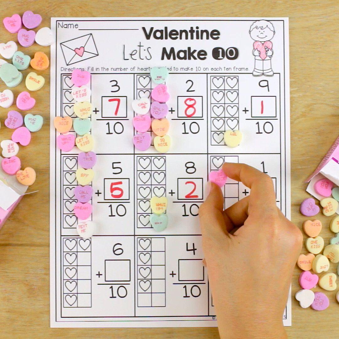 February FUN-Filled Learning! | Ten frame activities, Ten frames ...