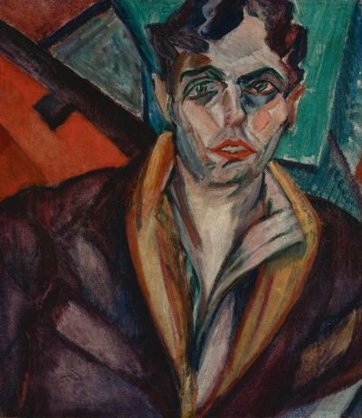 Retrato De Oswald De Andrade Anita Malfati Com Imagens Arte