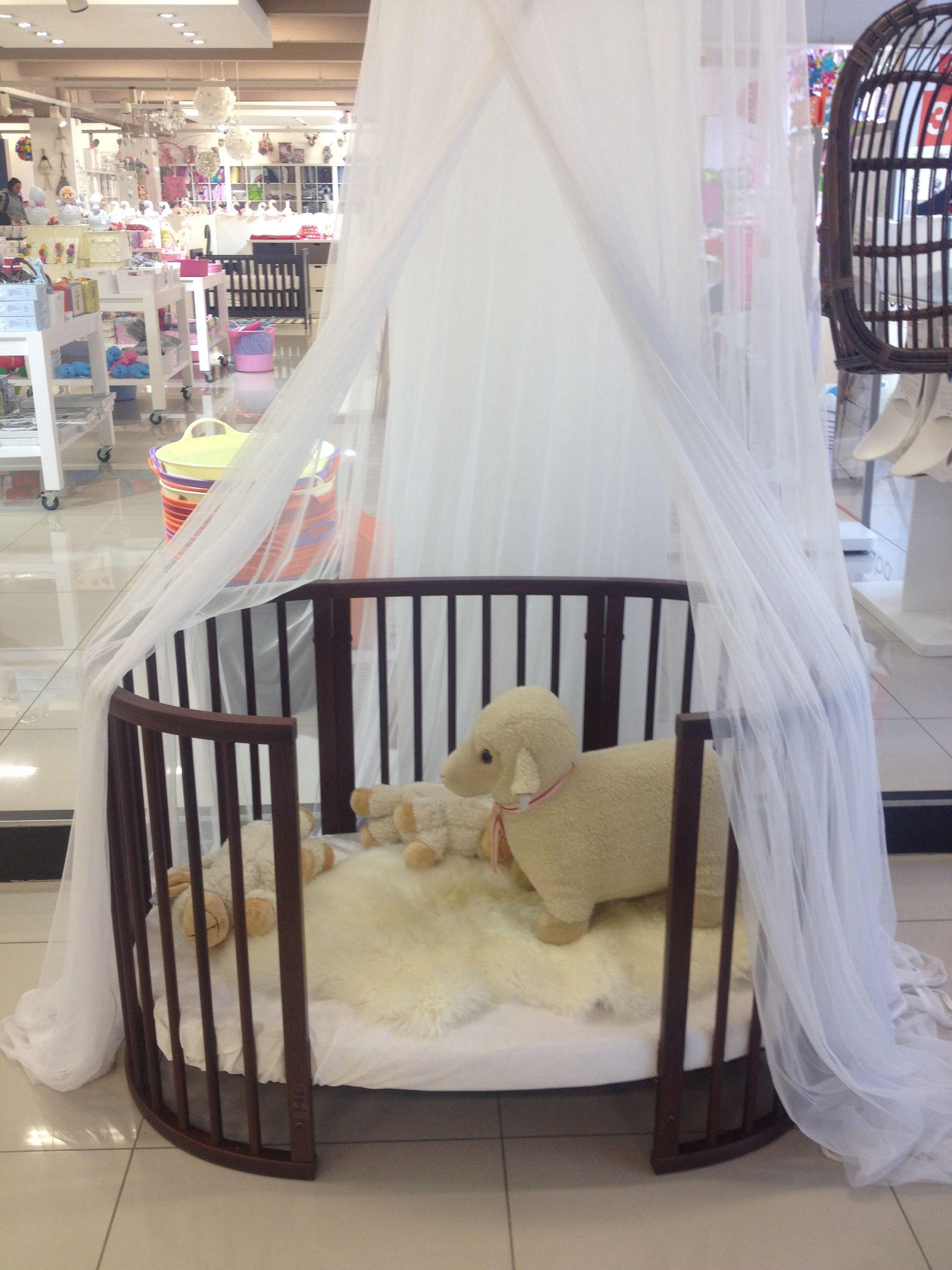 Heavenly crib