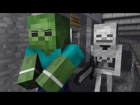 Zombie Life 4 Minecraft Animation Youtube Zombie Life Minecraft Animation