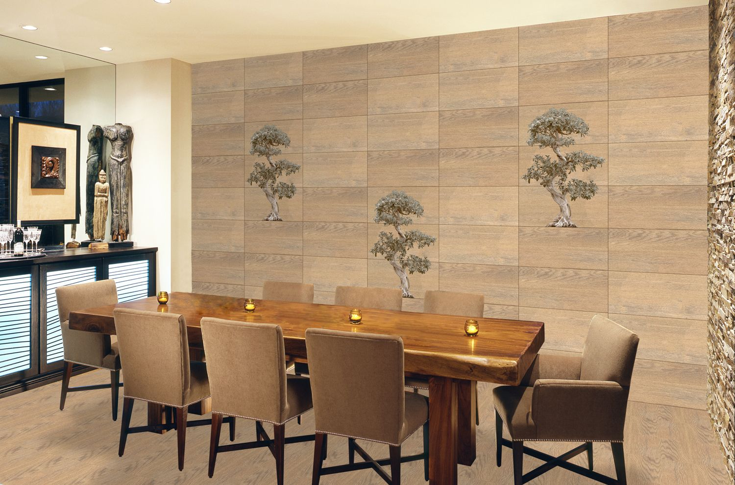 Odh Banyan Tree Hl Odw Dew Tiles For Dining Room Unique Dining Room Dining Room Walls Dining Room Wall Decor