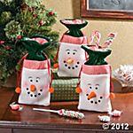snowman-drawstring-gift-bags