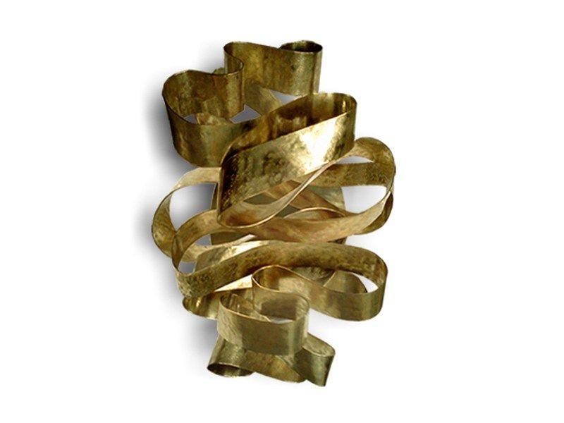 Bronze wall light chloe by koket