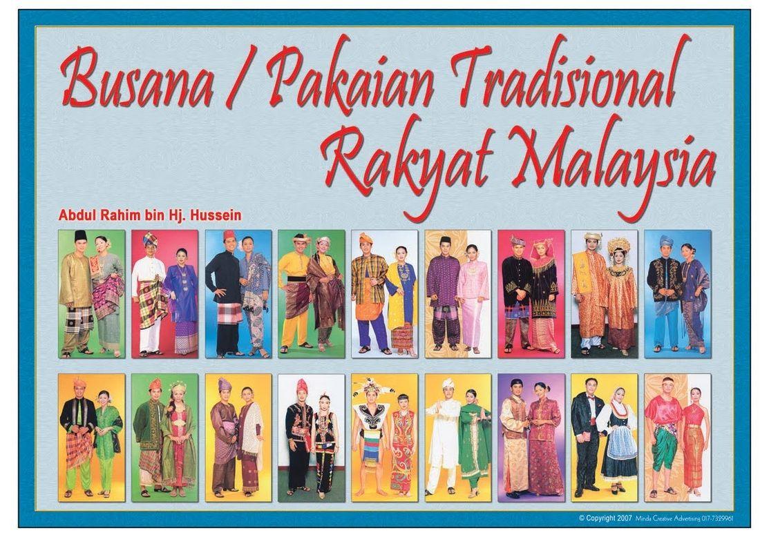 Gambar Pakaian Adat Malaysia