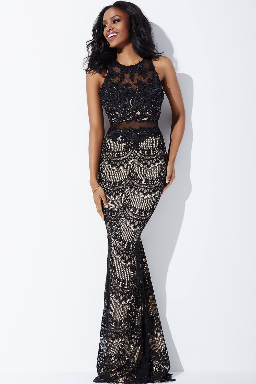 61bcb263978 Jovani Applique Illusion Formal Dress - Data Dynamic AG
