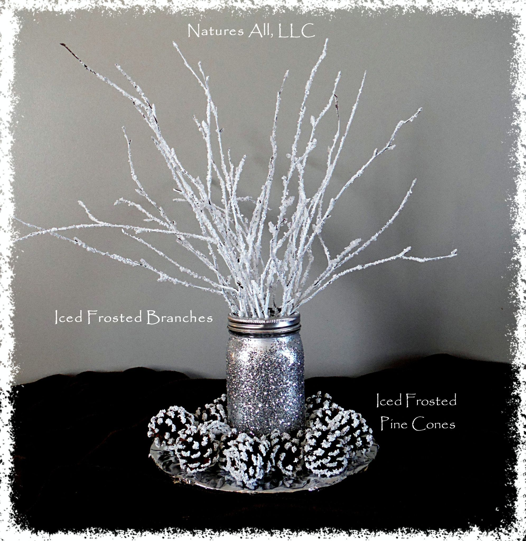 Decorative White Birch Branches Iced Frosted Branches Winter Wedding And Ho Winter Wonderland Decorations Winter Wonderland Theme Winter Wonderland Baby Shower