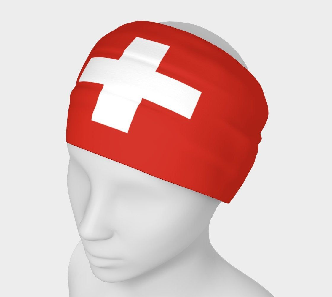 Flag of Switzerland headband, Bandanna, Neck Scarf, Yoga Headband, Head Wrap, Flag headband, Flag scarf, Tube scarf, Headwear, Swiss Flag #yogaheadband Flag of Switzerland headband, Bandanna, Neck Scarf, Yoga Headband, Head Wrap, Flag headband, Flag scarf, Tube scarf, Headwear, Swiss Flag by Buschwacked on Etsy #yogaheadband