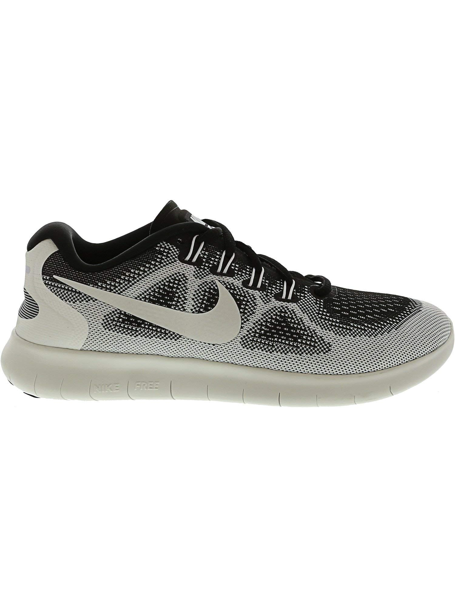2cb9f1b995a3 Nike Womens Free RN 2017 LE LowTop Lightweight Running Shoes B W 8 Medium  BM     Details can be found by clicking on the image-affiliate link.
