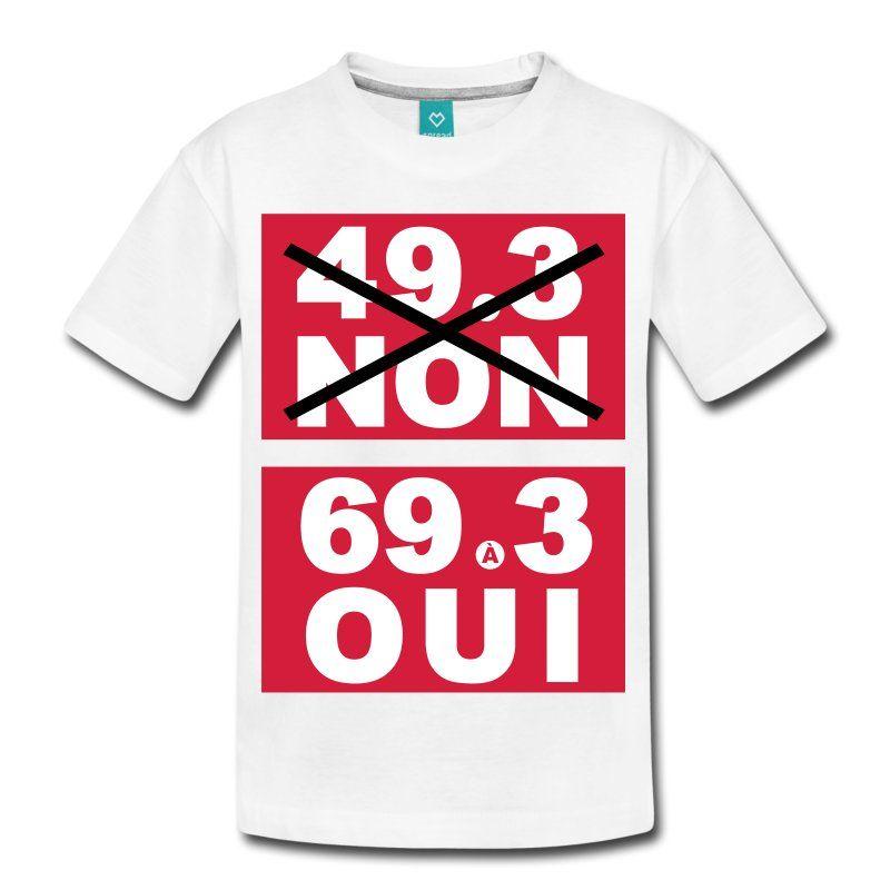 Le 49 3 Non T Shirt Premium Ado T Shirt Shop