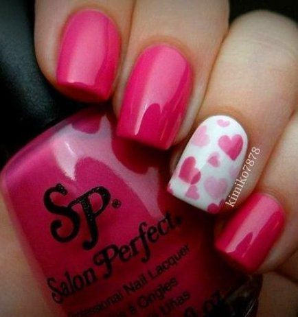Nägel Rose einfach Valentinstag 49+ Ideen #nails #valentines day nails pink Nai ..., #Day #einfach #Ideen #Nägel #Nai #nails #Pink #Rose #Valentines #Valentinstag