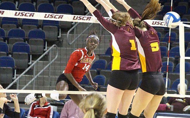 Flagler Sweeps USC Aiken in PBC Volleyball Tournament Final