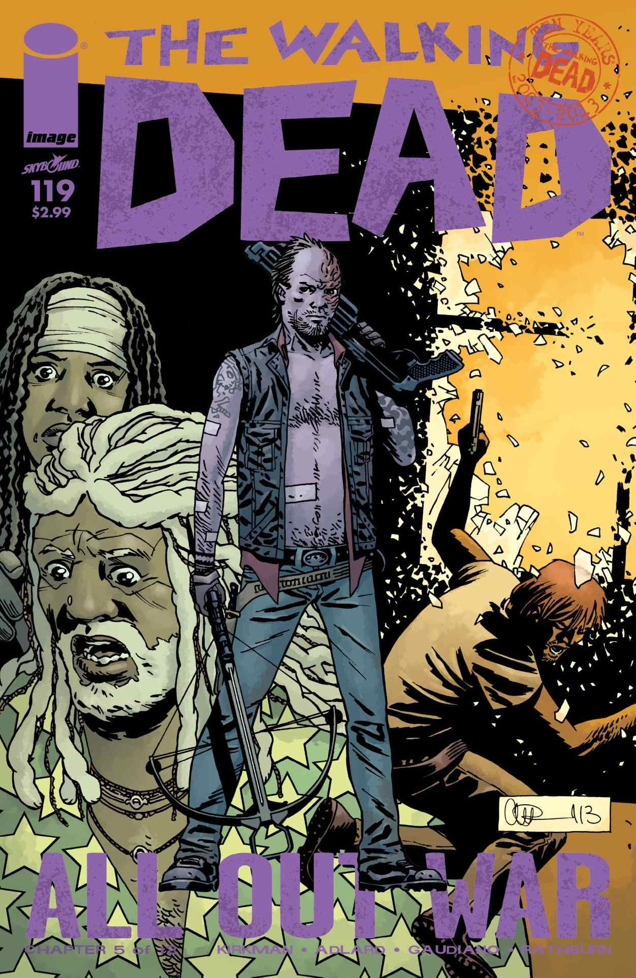 Read Comics Online Free - The Walking Dead - Chapter 119 - Page 1