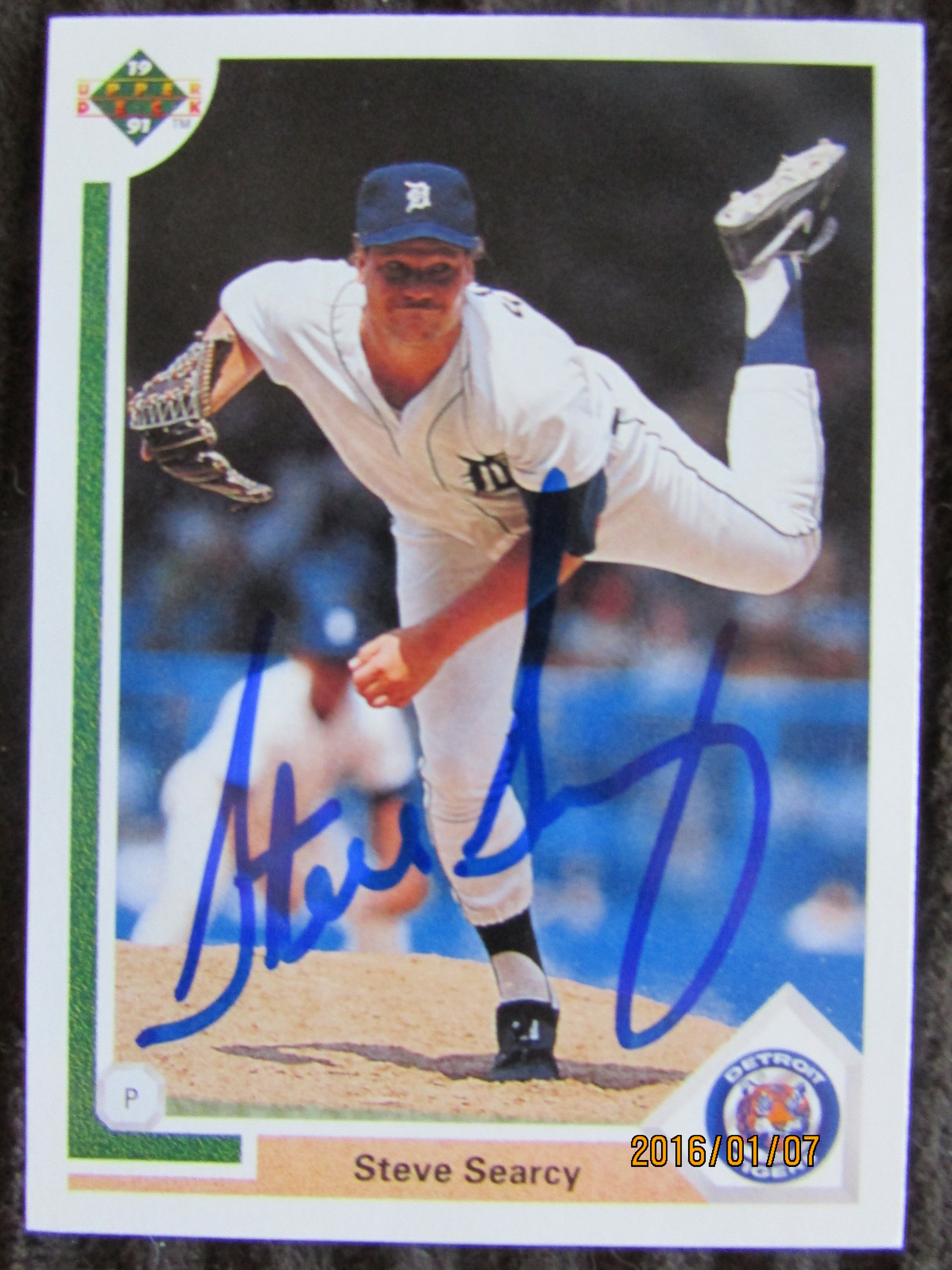 1991 upper deck ttm upper deck baseball cards
