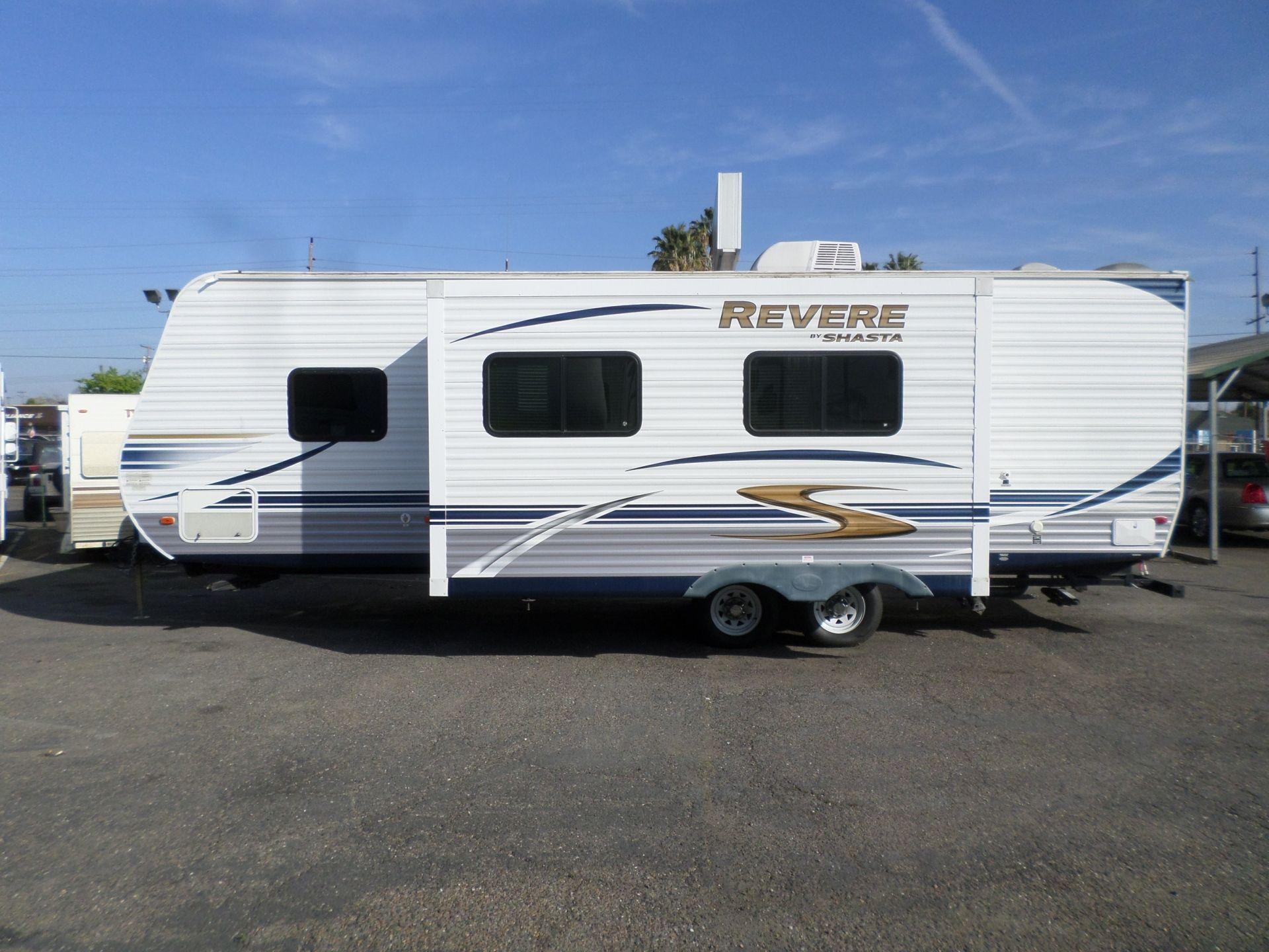 2012 Shasta Revere Bunkhouse Travel Trailer | Travel ...