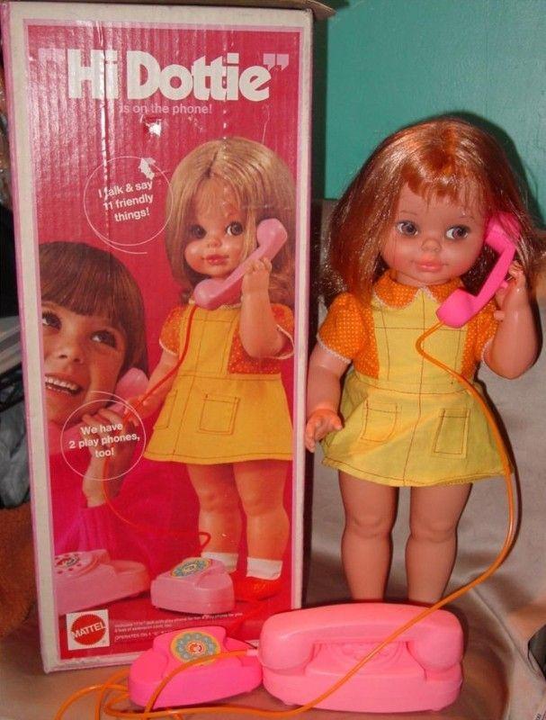 "MATTEL: 1972 ""Hi Dottie"" Talking Doll"