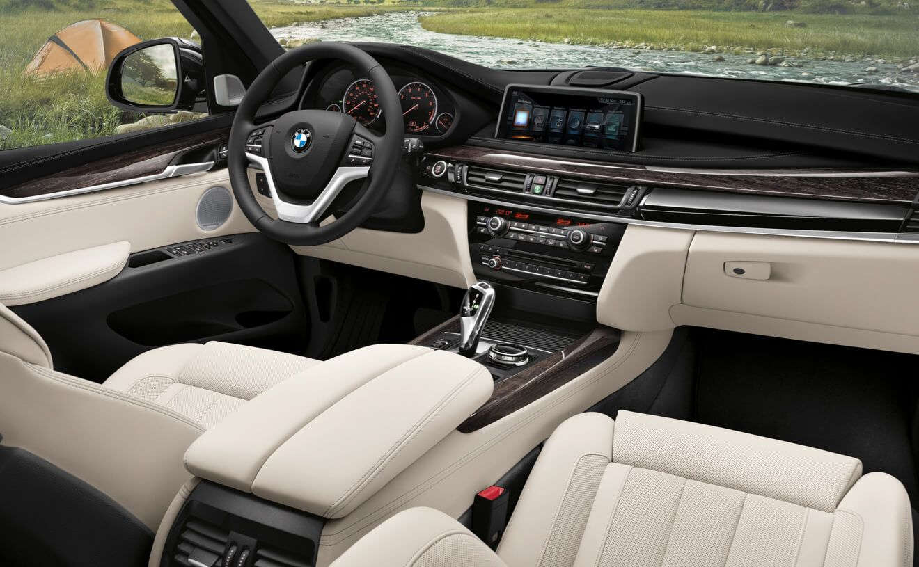The Bmw X5 Xdrive50i With Exclusive Nappa Leather In Ivory