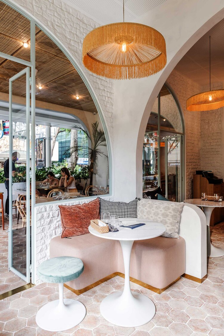 A Parisian Cafe In Singapore In 2020 With Images Parisian Cafe Design Danish Dining Chairs