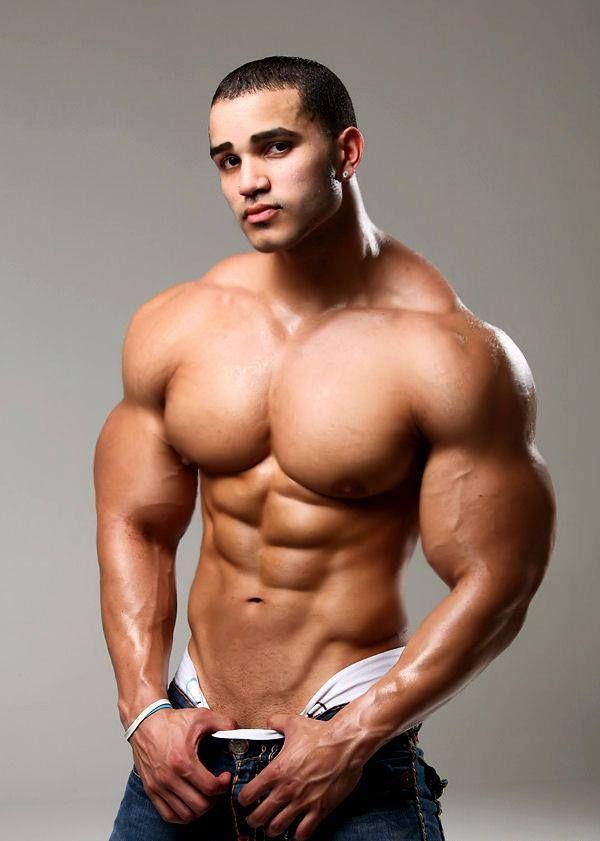 Enourmos male breasts
