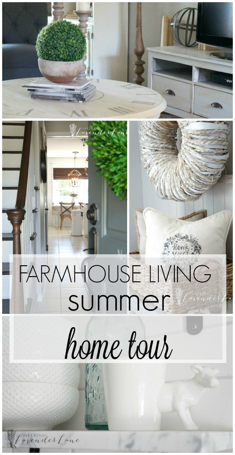 Modern Farmhouse Summer Home Tour Seeking Lavender Lane