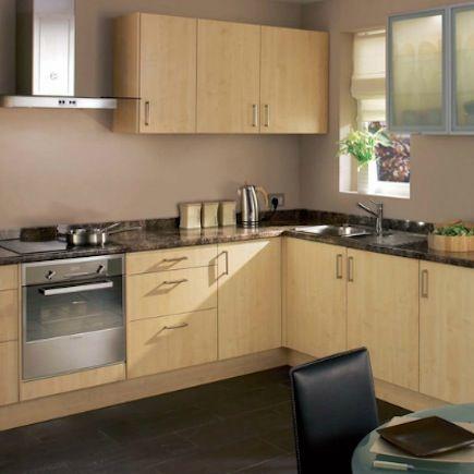 Kitchen compare homebase hygena leonora oak effect our kitchen homebase leonora planetlyrics Gallery