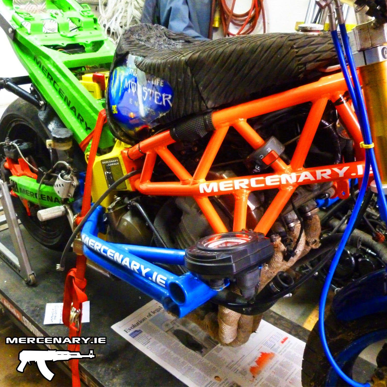 mercenary kawasaki 636 stunt bike wiring custommotorcyclewiring stuntbikewiring kawasaki636 stuntlife mercenary mercenarygarage [ 1500 x 1500 Pixel ]